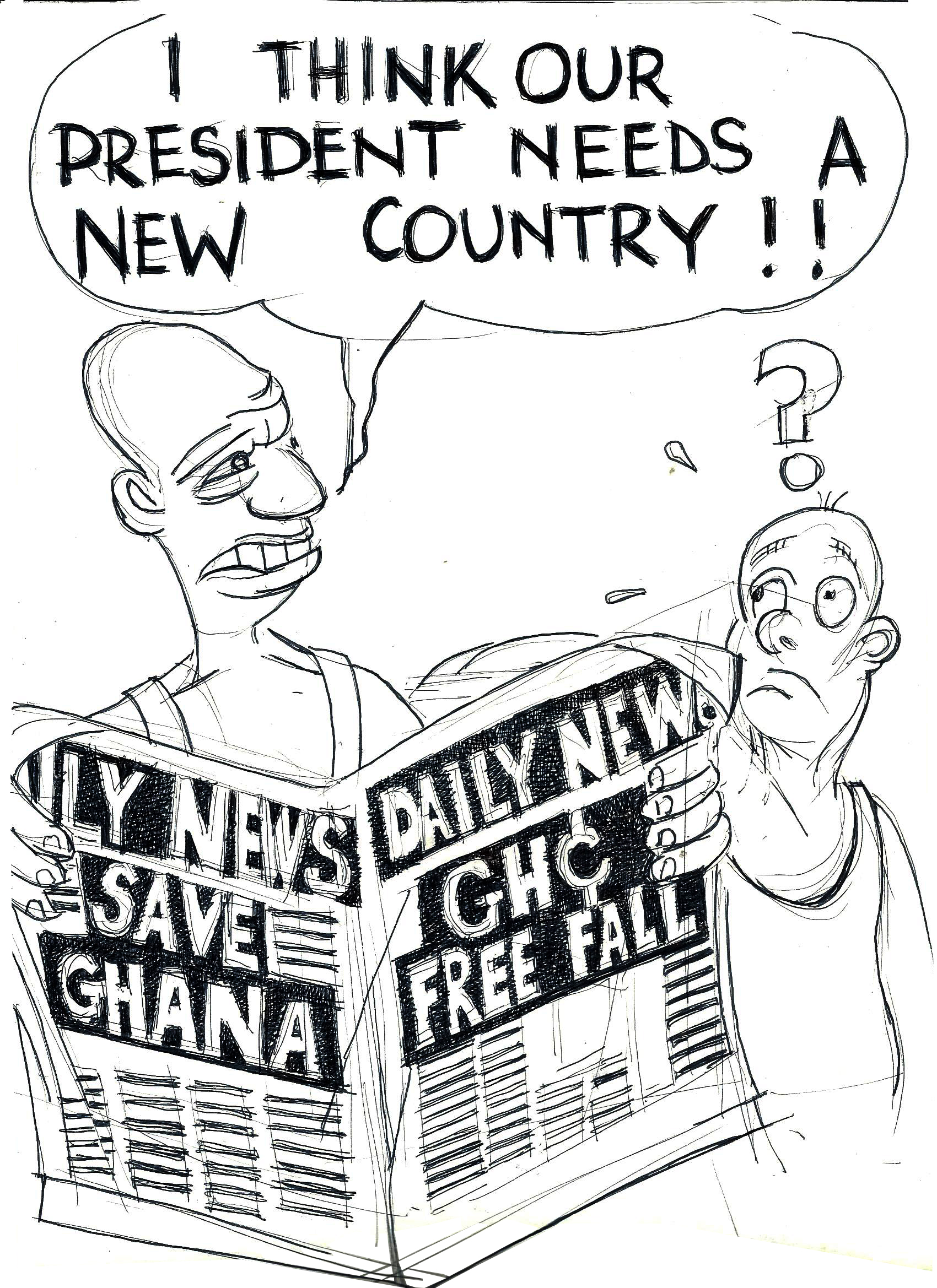 Kofi Wahala Thinks...