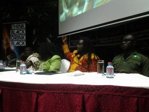 From left Agya Koo Nimo, Diana Hopeson, Obour and Samuel Afari-Dartey