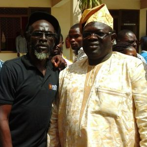 Northern Regional Minister and Daddy Bosco
