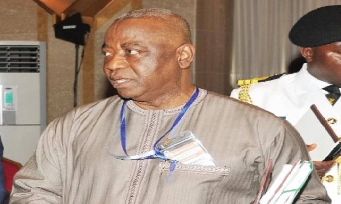 Alhaji Baba Camara, National Security Adviser.