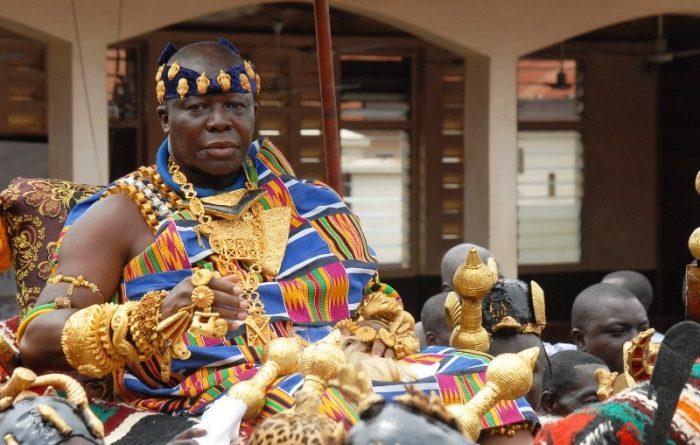 Asantehene Otumfuo Osei Tutu II.