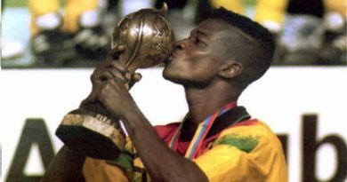 Awudu Issaka was a member of the '95 squard that won the Under 17 World Cup.