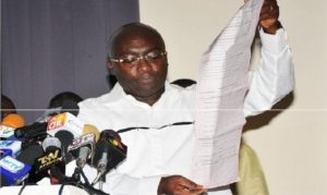 Dr Bawumia, NPP's 2016 Veep candidate, led the presentation.