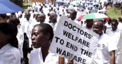 The doctors have abandoned public hospitals as they demand proper conditions of service.