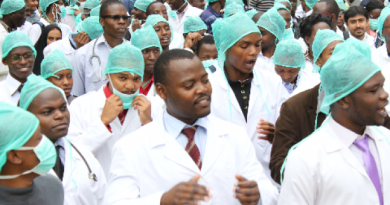 Ghanaian doctors have been on strike for two weeks over conditions of service.
