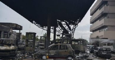 The GOIL Fire disaster on June 3 in Accra influenced the statistics.