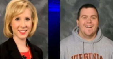 The two journalists killed, Alison Parker (L) and Adam Ward (R).