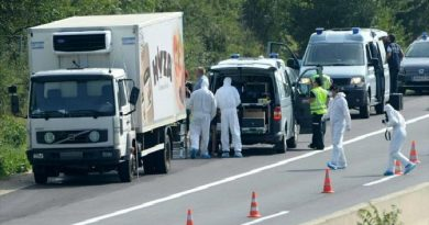 The lorry was towed away on Thursday from the lay-by where it was found.