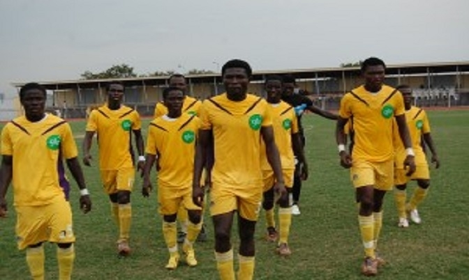 Medeama beat Kotoko 1-0 to win the 2013 FA Cup.