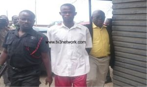 The convicted failed assassin, Charles Antwi.