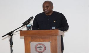 President Mahama is in Mauritius on a three-day visit.