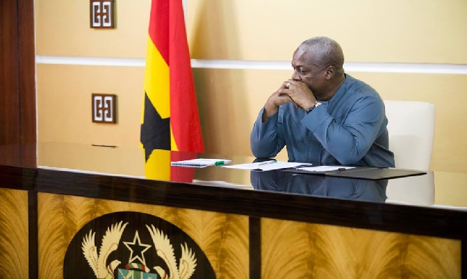 President Mahama says the strike is illegal.