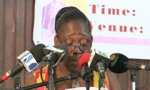Executive Director of NRSC, May Obiri Yeboah.