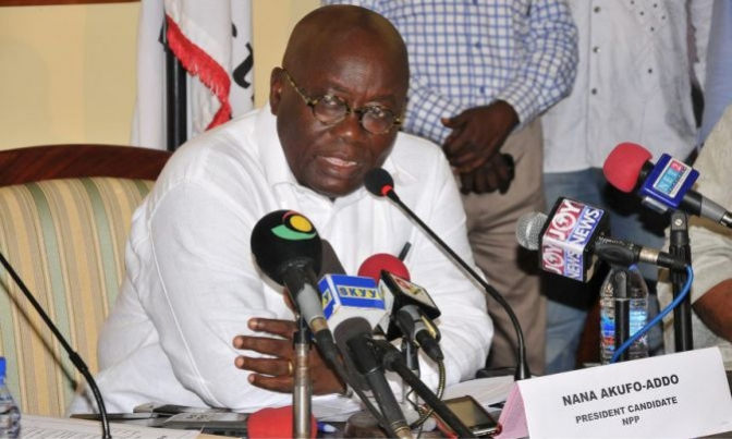 "Nana Addo: ""The only path to a resolution of the problem is for both parties to return to the negotiation table""."