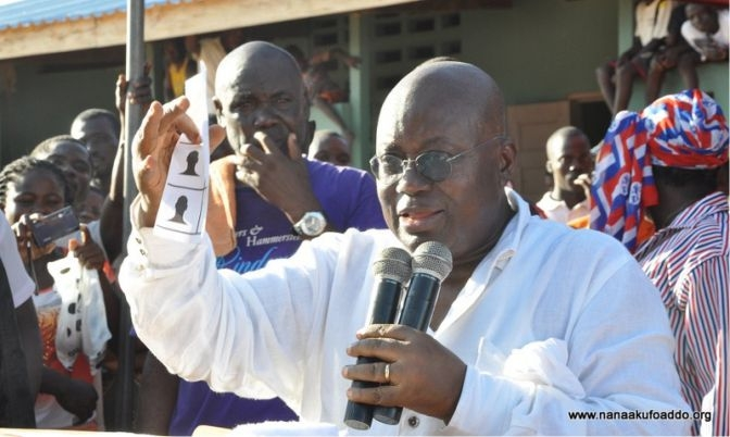 "Nana Addo: ""We are doing so because we want to strengthen and deepen Ghana's democratic credentials."""