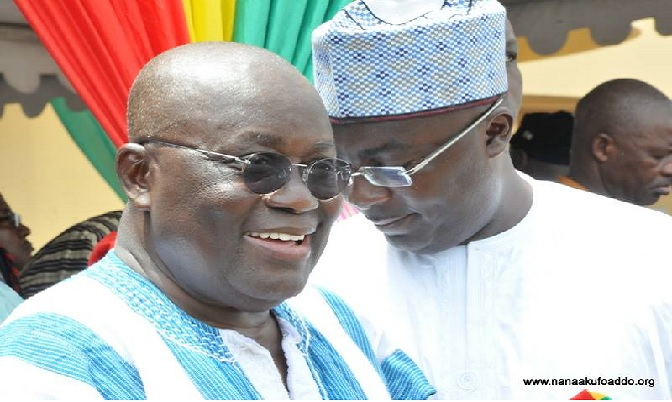 NPP Flagbearere and his running mate Dr. Bawumia are concerned about a credible voters' register.