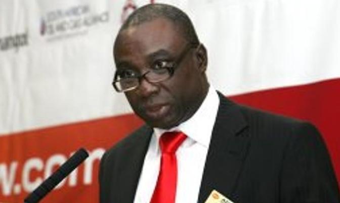 Ghana's Minister for Power, Dr. Kwabena Donkor.