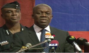 "Vice President Amissah-Arthur: ""We need to work against all these forces of disharmony""."