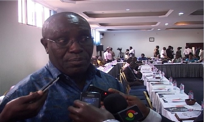 Deputy Secretary General of the TUC, Dr. Yaw Baah.