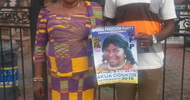 Madam Akua Donkor - GFP Presidential Candidate