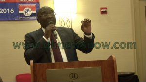 Dr. Bawumia addressing the Youth Conference