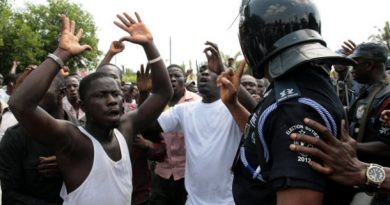 File photo: Angry residents of Akooko have besieged the Suhum Government Hospital
