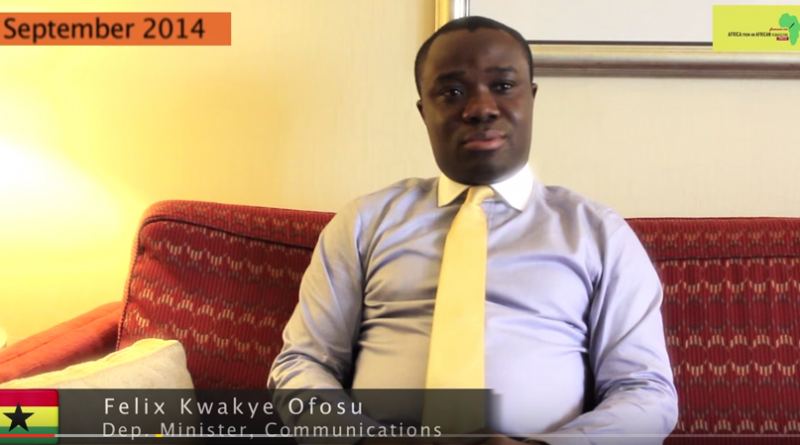 Deputy Minister Of Information Felix Ofosu Kwakye