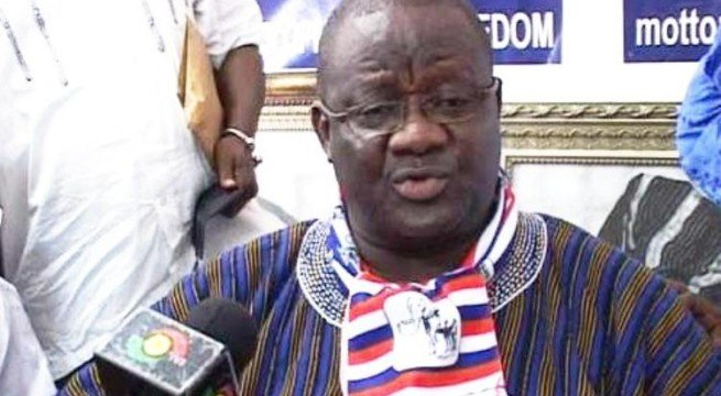 Suspended NPP National Chairman Paul Afoko