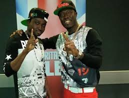 Bollie and Reggie Zippy who make up the Menn On Point