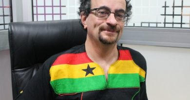 British High Commissioner to Ghana Jon Benjamin