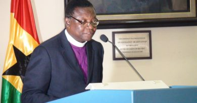 Most Rev. Prof. Emmanuel Asante  Photo Credit: myghanaonline.com