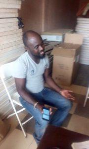 Suspected Fraudster  Kwasi Tabiri