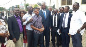 Member of Kumasi Metropolitan Assembly (KMA) in Group Picture