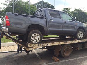UPP Akwasi Addai's Seized Vehicle