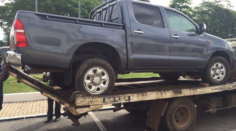UPP Akwasi Addai's Seized Vehicle