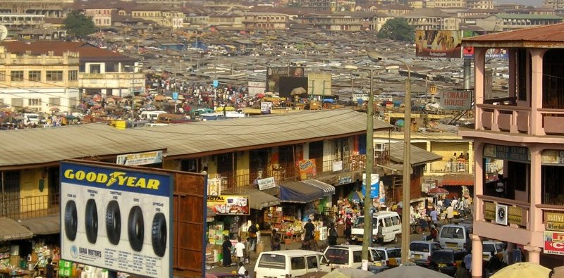 Kumasi Central Business District: Picture Credit