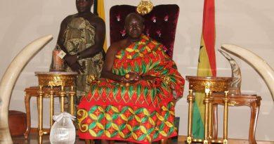 Photi File: Asantehene Otumfuo Osei Tutu II