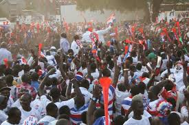 Supporters of NPP in Kumasi: picture credit Kessben Fm