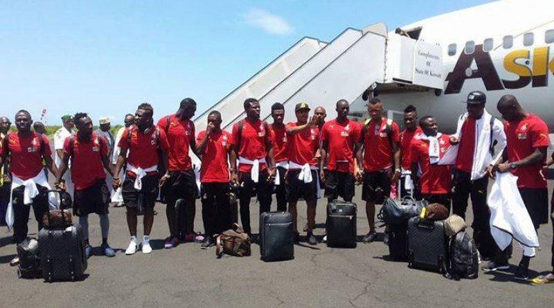 Ghana Black Star Players In Group Picture Photo Credit Emmanuel Mensah