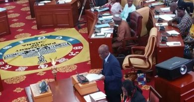 Seth Terkper presenting the 2016 budget statement