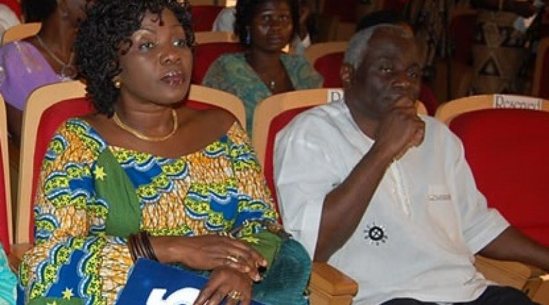 Tsatsu Tsikata and wife Esther Cobbah