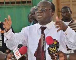 Acting Chairman Of  New Patriotic Party, Mr. Freddie Blay