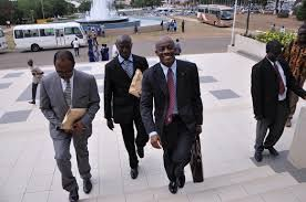 Finance Minister Set Seth Terkper Entering Parliament Ahead This Morning Budget Reading.