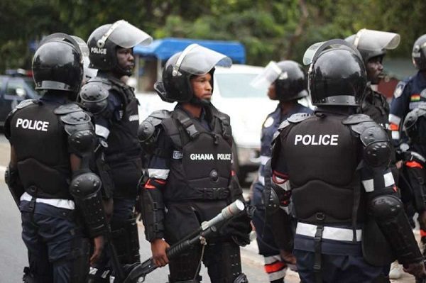 Photo Source: Ghana Police Service