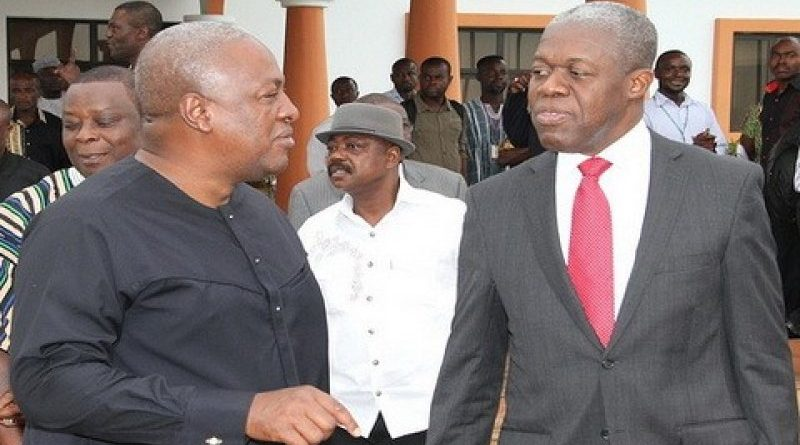 The NDC is going for the John Mahama-Amissah-Arthur ticket for the 2016 polls