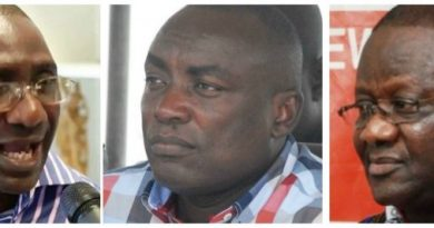 Suspended National Executives Of NPP