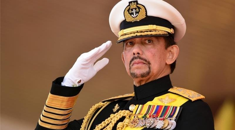 The sultan of Brunei has banned people from celebrating Christmas in public this year [Ahim Rani/Reuters]