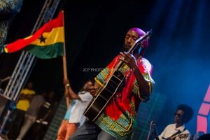 Ras Boumba of Big Hills Band - Photo Courtesy: 2CP Photography