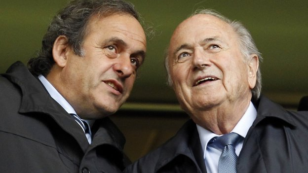Sepp Blatter and Michel Platini have been banned from football for eight years