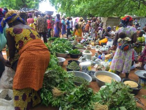 Women Selling at the Market